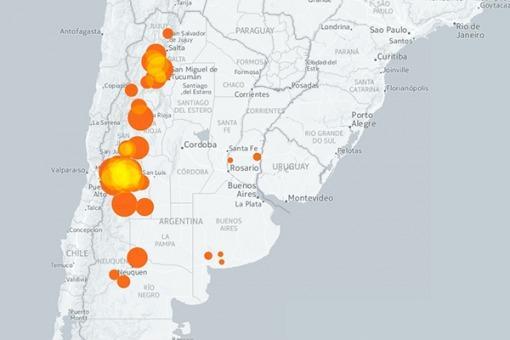 mapa intractivo vinos